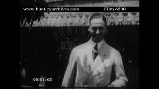 Amateur home movie of 1930's Japan.  Archive film 6590
