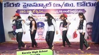 kerala high school korutla girls dance video | girls dance performance video | group dance video