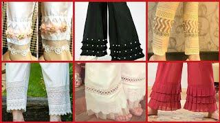 Latest Top Class Trousers Designs For Girls 2019// Latest Fashion Images Video