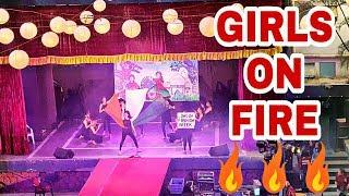 Best GIRLS Group Dance Performance In College 2019 || Vinit Creations ||