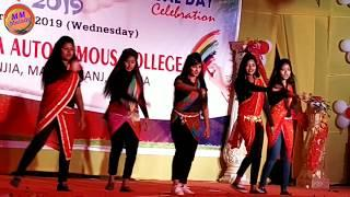 Oh my darling I love you College girls Dance || Karanjia Autonomous College Annual Function 2019