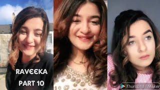 "Cute raveka ""Part-10 musically video || most beautifull girls"