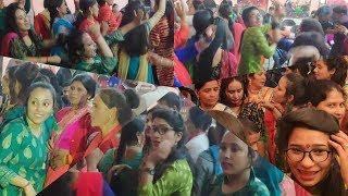 New Garhwali Shadi Dance   Chamba   garhwali girls dancing on Bhagtu Mama  