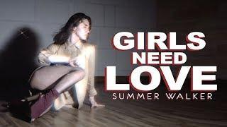 Summer Walker - Girls Need Love | Lisa Nikolova | Heels dance | VELVET YOUNG