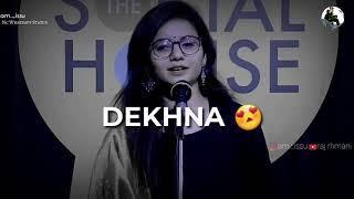 For girls???? whatsapp status video    love poetry status