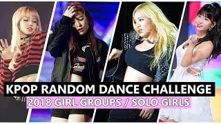 KPOP 2018 Random Dance Challenge - Girl Groups / Solo Girls (No countdown, 40+ songs)