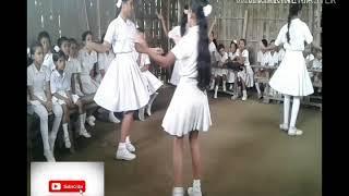 Small girls dance in school (Assam)