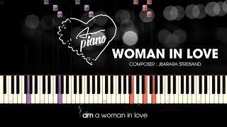 Woman in Love - Piano Cover  Piano Tutorial & Sheets