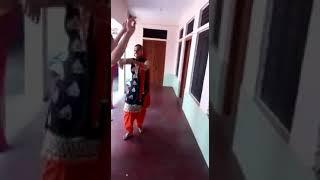 Girls dance with rajasthani song
