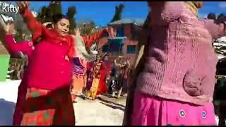 Bhaderwahi Girls Dance in marriage of Shabu & Angrez