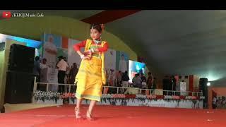 Koch Rajbongshi Girls dance on Dang dotara song