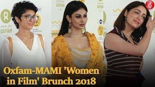 Bollywood Stars attend Oxfam-MAMI 'Women in Film' Brunch 2018