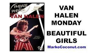 Van Halen II - Beautiful Girls FULL Guitar Lesson (Video w/TAB) Upload #365