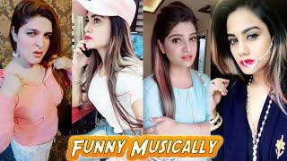 The Most Funny Musically Cute girls Comedy Video