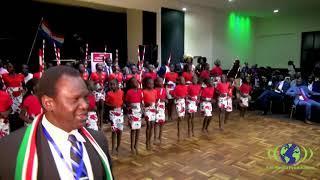 Bor Community girls cultural dance presentation