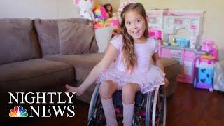 Dance Group Brings Joy To Girls In Wheelchairs | NBC Nightly News