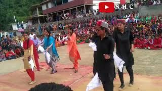 Gsss shimla(dewat) school girls dance in old song remix
