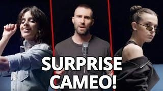 """CAMILA CABELLO & MILLIE BOBBY BROWN FT. IN MAROON 5 """"GIRLS LIKE YOU"""" MUSIC VIDEO"""