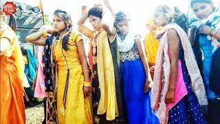 Girl's Dance Video Dhekal badi Adivasi Timli Dance Video Joind Family's Halloween party