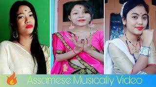 Assamese Lahi pahi girls on TikTok Musically video 2018 || by xengo