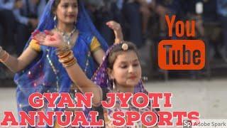 Gyan Jyoti Annual Sports 2018 | Girls' Dance | Stills