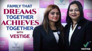 Family That Dreams Together Achieves Together | Successful Women At Vestige | Inspirational Speech