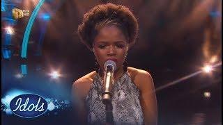 Top 16 Girls: Yanga - Don't You Remember - Idols SA | Mzansi Magic