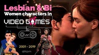 Lesbian and Bisexual Women in Video Games ⚢