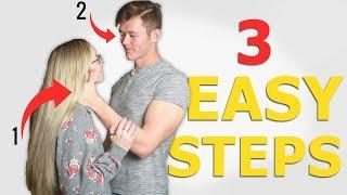 3 IMPORTANT Steps for a Kiss Girls LOVE (Hot Kiss Tutorial)