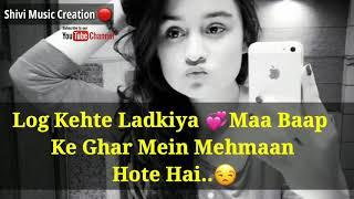 WhatsApp Status Videos For Girls // New Single Girls WhatsApp Status Video 2018  Sah Status For What