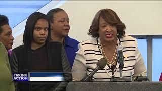 Women demand action after Detroit police officer films video deemed racist
