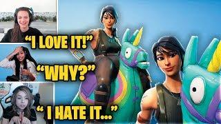 Girls LOVE the *NEW* Yee-Haw! Skin and React - Fortnite Best and Funny Moments