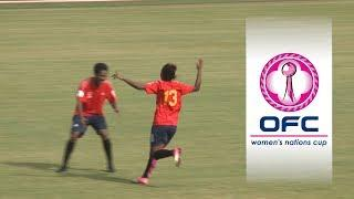 2018 OFC WOMEN'S NATIONS CUP | GROUP A HIGHLIGHTS | Papua New Guinea v Tahiti