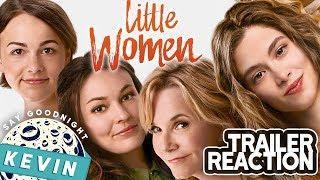 Little Women Trailer Reaction