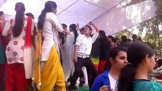 College Girls Dance fresher party || Dev Kumar Deva ||