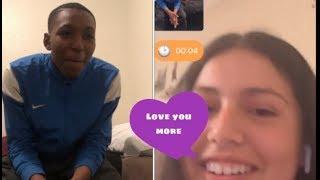 TELLING RANDOM GIRLS  I LOVE YOU????❤️(monkey app)