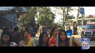 Chitwan  Tharu girls dance at wedding ceremony