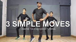 "Basic Dance Steps for ""GIRLS"" kids   Deepak Tulsyan Dance Tutorial   Beginner Dance Steps"