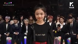 All Artist Reaction On Na Haeun GIRL GROUP DANCE @Melon Music Awards 2018