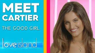 Meet Cartier: 'I'm the church girl' | Love Island Australia 2019