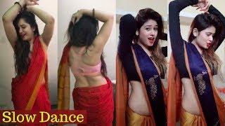 Musically Indian Girls Best Belly Dance Collection With Saree