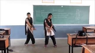 College girls dance performance