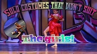 Solo costumes that didn't suit the girls! | Dance Moms