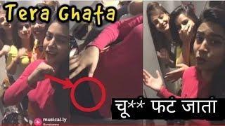 ISME TERA GHATA MERA KUCH NHI JATA ! Viral 4 girls video from musically