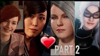 All The Girls Love Spider Man Part 2 - Black Heist DLC Ps4