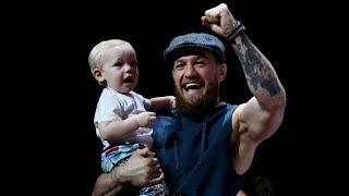 Conor McGregor shrugs off woman's paternity claims with show of fatherly love