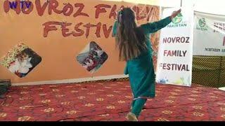 Beautiful and cute Girl Best Dance performance in city Park Gilgit