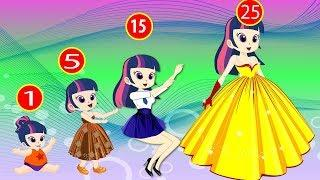 Equestria Girls Princess - Twilight Sparkle and Friends Animation Collection Episode 10