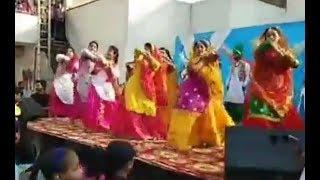 Punjabi Singer and School Girls Dance Performance at Play Way School Patiala
