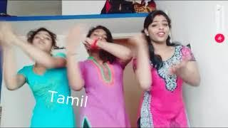 Kuthu Dance - Random Tamil Girls Musical Dubsmash Videos in HD